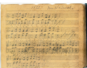 Brooks_GH_1932_original-music-score