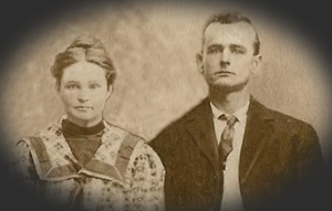 William Tribble and Ella Banks, 1910