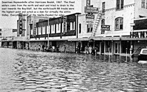 1967_Hurricane Beulah_Raymondville