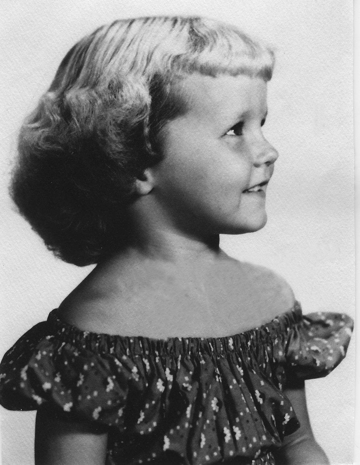 Linda Jane Brooks Circa 1951