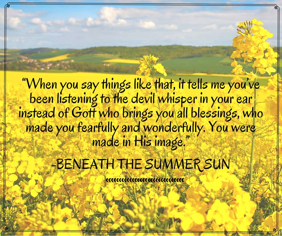 Author Kelly Irvin Beneath the Summer Sun